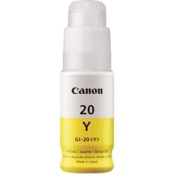 Canon Canon GI-20 MegaTank Ink - Inkjet - Yellow - 1 Each