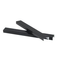 """JAM Paper® Standard Staples, 1/2"""" Full Strip, Black, Box Of 5,000 Staples"""