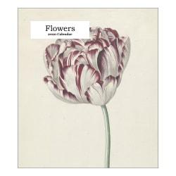 "Retrospect Flowers Monthly Desk Calendar, 6-1/4"" x 5-1/2"", January To December 2020, YCD 005-20"