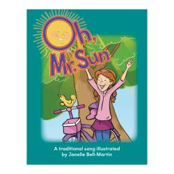 Teacher Created Materials Big Book, Oh Mr. Sun, Pre-K - Grade 1