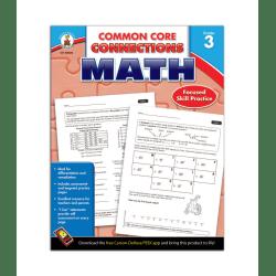 Carson-Dellosa Common Core Connections Math, Grade 3