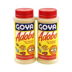 Goya Adobo Seasoning, 28 Oz Tub, Pack Of 2