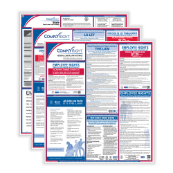 ComplyRight Federal/State Labor Law 1-Year Poster Service, Bilingual/English, Texas