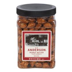 H.K. Anderson™ Peanut Butter-Filled Pretzel Nuggets, 24-Oz Tub