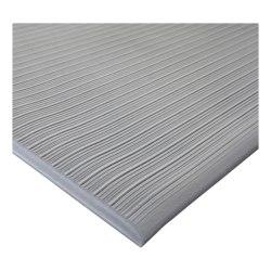 Genuine Joe Air Step Anti-Fatigue Mat, 3' x 5', Gray