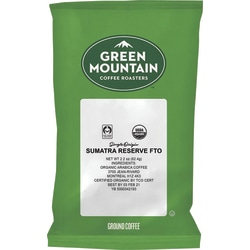 Green Mountain Coffee® Ground Coffee, Spiced Blend, 2 Oz Per Bag, Case Of 50 Bags