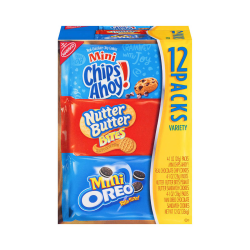 Nabisco® Cookie Mini Variety Pack, 1 Oz, Box Of 12