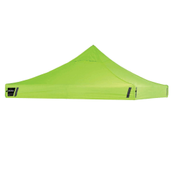 Ergodyne SHAX 6000C Replacement Pop-Up Tent Canopy, 10' x 10', Lime