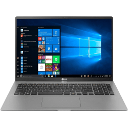 "LG gram 17Z90N-N.APS8U1 17"" Notebook - WQXGA - 2560 x 1600 - Intel Core i7 (10th Gen) i7-1065G7 1.30 GHz - 16 GB RAM - 512 GB SSD - Dark Silver - Windows 10 Pro- 17 Hour Battery Run Time - IEEE 802.11ax Wireless LAN Standard"