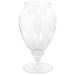 Amscan Plastic Apothecary Jar, 82 Oz, Clear