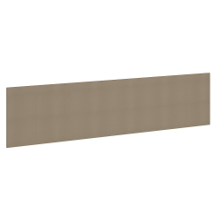 "Bush Business Furniture Studio C 72"" Non-Magnetic Unframed Bulletin Board, Latte, Standard Delivery"