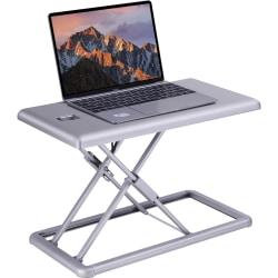 """Lorell® Portable Desk Riser, 19""""W, Silver"""