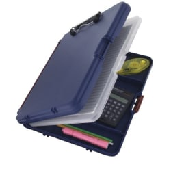 "Saunders® Workmate II Portable Desktop, 8 1/2"" x 12"", Blue"