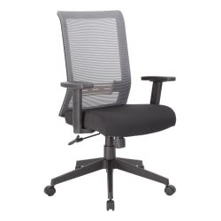 Boss Office Products Horizontal Mesh Back Task Chair, Black