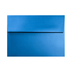 """LUX Invitation Envelopes With Moisture Closure, A7, 5 1/4"""" x 7 1/4"""", Boutique Blue, Pack Of 250"""
