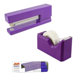 JAM Paper® 3-Piece Office Organizer Set, Purple