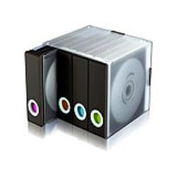 Atlantic Parade 96 Disc Storage Cube, Black