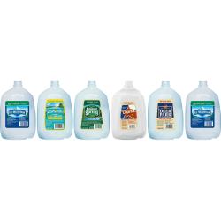 Nestle Distilled Water - Ready-to-Drink - 128 fl oz (3.79 L) - 6 / Carton