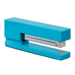 "JAM Paper® Plastic Stapler, 2-1/2""H x 1-1/8""W x 6""D, Blue"