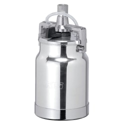 Binks® Siphon Cup Assembly, 1 Qt, Silver