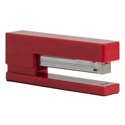 "JAM Paper® Plastic Stapler, 2-1/2""H x 1-1/8""W x 6""D, Red"
