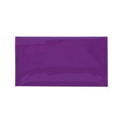 """Office Depot® Brand Metallic Glamour Mailers, 10-1/4"""" x 6-1/4"""", Purple, Case Of 250 Mailers"""