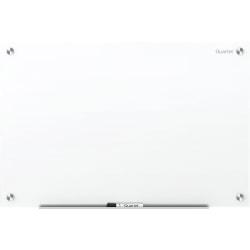 "Quartet® Magnetic Unframed Dry-Erase Whiteboard, 48"" x 36"", Brilliance White"