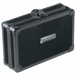 "Vaultz Premium Locking Pencil Box, 8-3/4""H x 5-1/4""W x 6""D, Tactical Black"