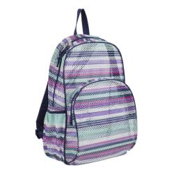 Eastsport Sport Mesh Backpack, Candy Stripe