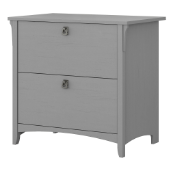 "Bush Business Furniture Salinas 31-3/4""W Lateral 2-Drawer File Cabinet, Cape Cod Gray, Standard Delivery"