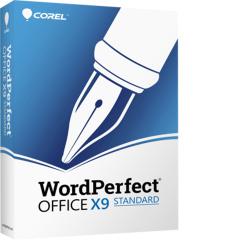 WordPerfect Office X9, Standard Edition Upgrade