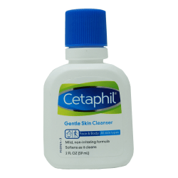 Cetaphil Facial Cleanser, Unscented, 2.88 Oz