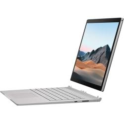 "Microsoft Surface Book 3 13.5"" Touchscreen 2 in 1 Notebook - 3000 x 2000 - Intel Core i5 i5-1035G7 Quad-core 1.20 GHz - 8 GB RAM - 256 GB SSD - Platinum - Windows 10 Pro - Intel Iris Plus Graphics - PixelSense - 15.50 Hour Battery"