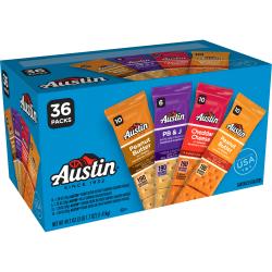 Austin Cracker Variety Pack, Box Of 36 Packs
