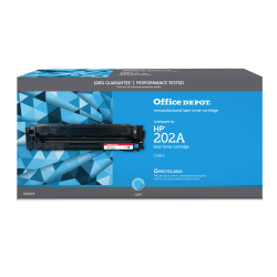 Clover Technologies Group™ 201169P Remanufactured Cyan Toner Cartridge Replacement For HP 202A / CF501A