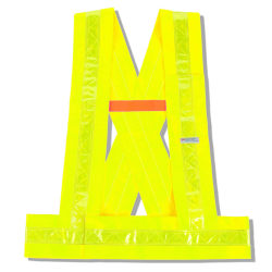 Ergodyne GloWear Safety Vest, Breakaway Sash, Type-O Class 1, X-Large/XX-Large, Lime, 8140BA