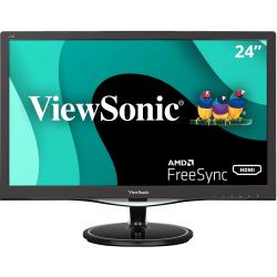 "ViewSonic® 24"" Full HD LED LCD Monitor, HDMI, VGA, DisplayPort, Audio In, Audio Out VX2457-mhd"