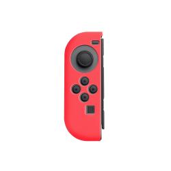 Insten Silicone Skin Case Cover For Nintendo Switch Left Joy-Con Controller, Red