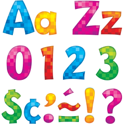 """Trend 4"""" Playful Ready Letters Combo Pack - Learning Theme/Subject"""
