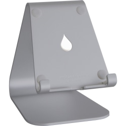 """Rain Design mStand Tablet - Space Grey - Up to 13"""" Screen Support - 5.2"""" Height x 4.1"""" Width x 6"""" Depth - Anodized Aluminum - Space Gray"""
