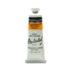 Grumbacher P060 Pre-Tested Artists' Oil Colors, 1.25 Oz, Diarylide Yellow, Pack Of 2