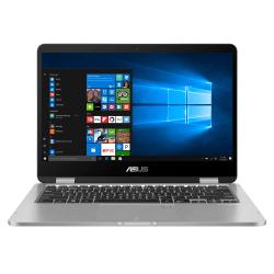 "ASUS® VivoBook Flip 14 2-In-1 Laptop, 14"" Screen, Intel® Celeron""¢, 4GB Memory, 64GB eMMC Storage, Windows® 10 Home in S Mode, Light Grey, J401MA-OS04T"