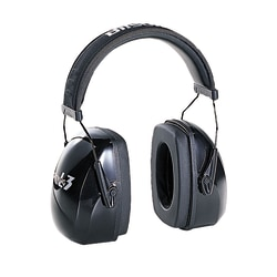 Leightning L3 Noise Reduction Over-The-Head Earmuffs, Black