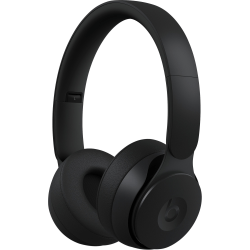 Beats by Dr. Dre Solo Pro Wireless Noise Cancelling Headphones - Black - Stereo - Wireless - Bluetooth - Over-the-head - Binaural - Circumaural - Noise Canceling - Black