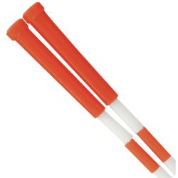 Champion Sports Plastic Segmented Jump Rope, 7', Red/White