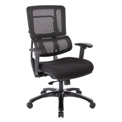 Pro-Line II™ Pro X996 Vertical Mesh High-Back Chair, Black