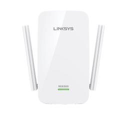 Linksys AC750 Dual-Band Wi-Fi Range Extender, RE6300