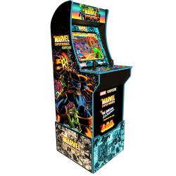 Arcade1Up Capcom Marvel Super Heroes At-Home Arcade Machine With Riser
