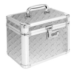 """IdeaStream Vaultz Locking Personal Storage Box, 7-1/2""""H x 7""""W x 7""""D, Black"""