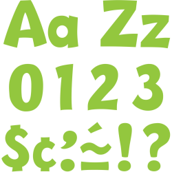"""Trend 4"""" Playful Ready Letters Combo Pack, Set of 216"""